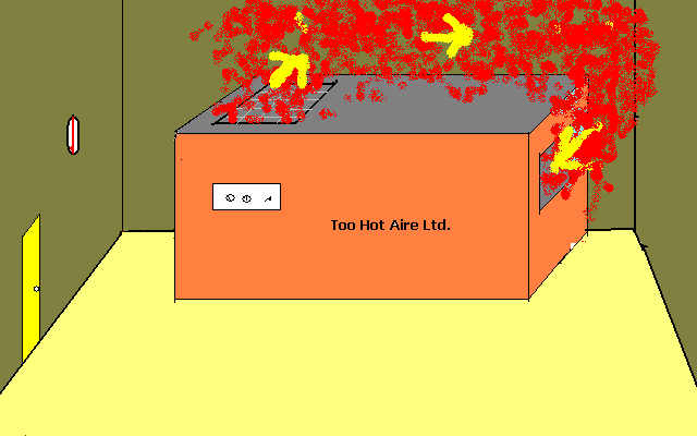 Compressor room ventilation design
